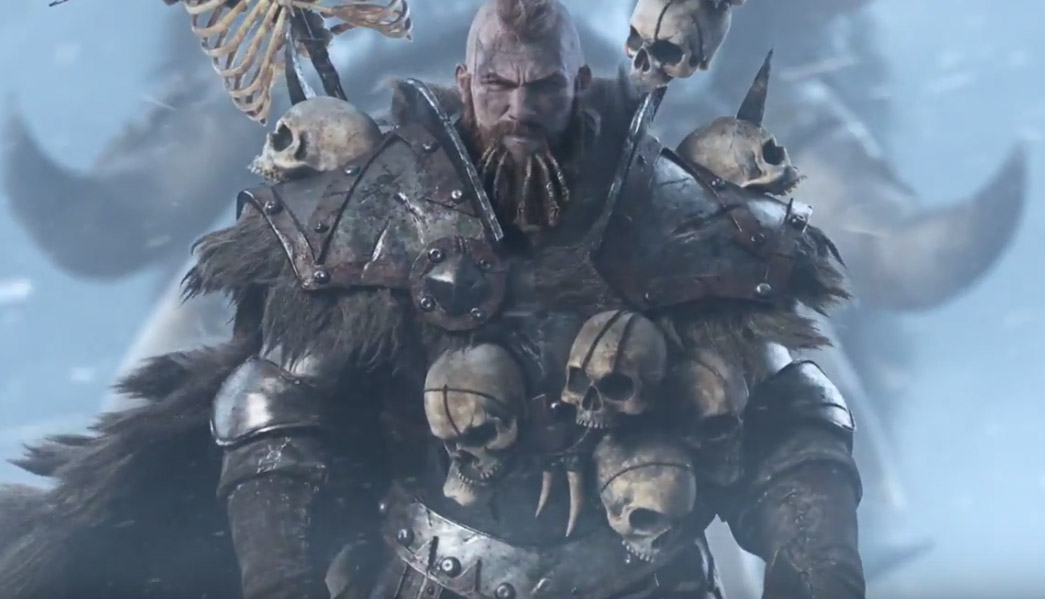 Direction Norsca dans Total War : Warhammer