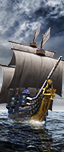 Unité maritime : Bretonnian Galleon