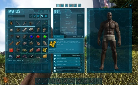 Une nouvelle interface pour Ark: Survival Evolved