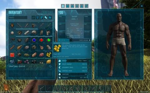 ARK - Une nouvelle interface pour Ark: Survival Evolved