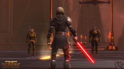 Capture d'écran de l'extension Knights of the Fallen Empire
