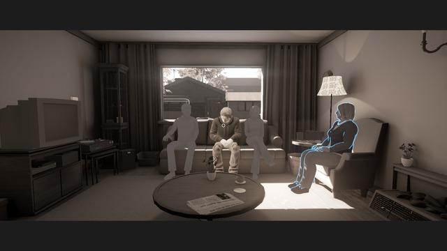 Les personnages sur lesquels se concentre le jeu sont dessinés plus précisément