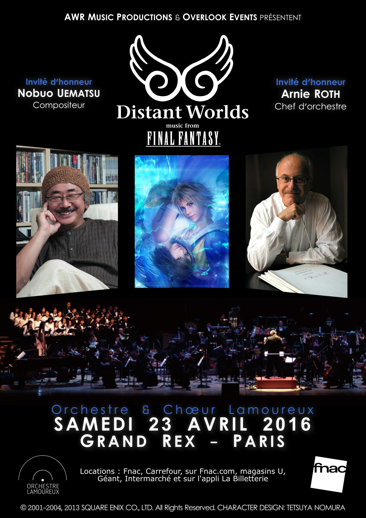 Distant Worlds : Final Fantasy en concert au Grand Rex