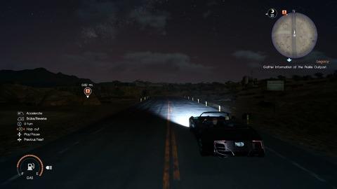 Réfléchissez bien avant de vous aventurer la nuit sur les routes.