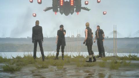 Les quatre héros découvrent l'invasion d'Insomnia par l'Empire.