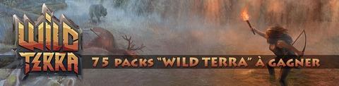 Jeu-concours : 75 packs et accès à Wild Terra à gagner