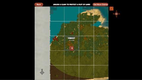 Creativerse - Creativerse R29 Map et système de claim