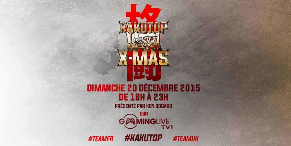 Kakutop Christmas - Angleterre VS France