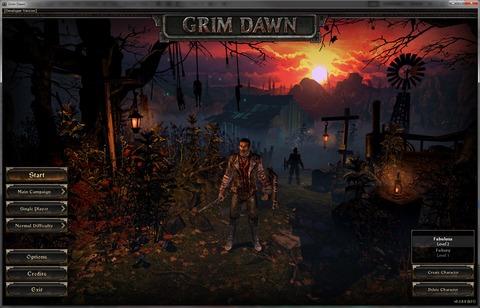 Grim Dawn - Grim Dawn bientôt terminé