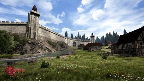 Chronicles of Elyria - Le monde d'Elyria illustre son univers