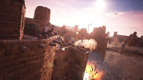 Conan Exiles - Construction et destruction de cités dans Conan Exiles