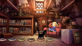 Tout commence avec Alice et son chat Socrate.