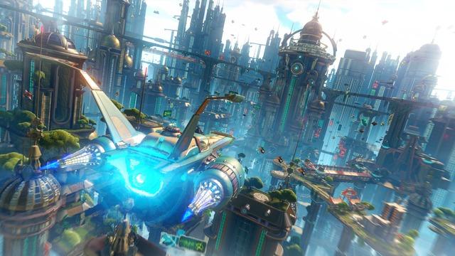 Ville de Ratchet & Clank