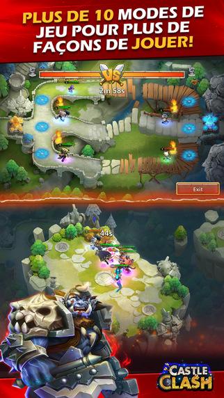 castle clash online