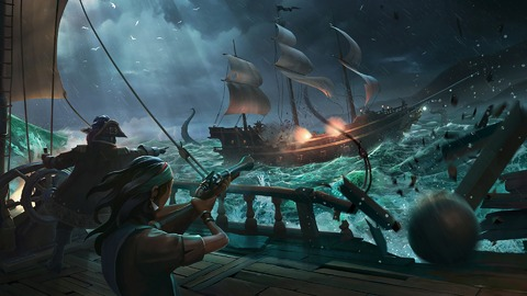 Sea of Thieves - Sea of Thieves affine le fonctionnement de ses armes à feu