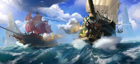 Sea of Thieves - Une « nouvelle approche du multijoueur » dans Sea of Thieves