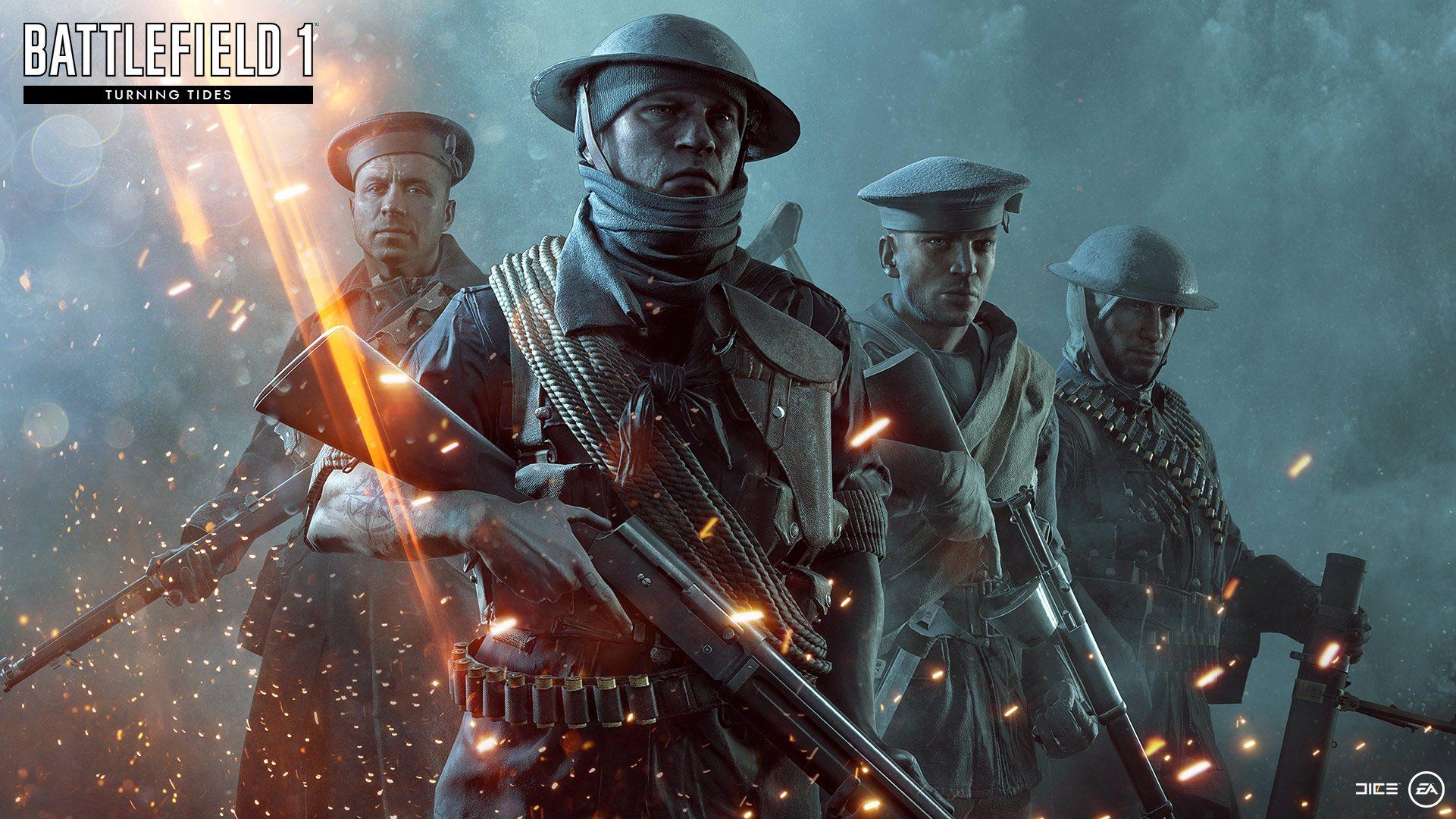 Nouveau DLC Battlefield 1 - DLC Turning Tides annoncé !