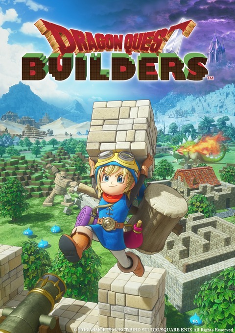 Dragon Quest Builders - Dragon Quest Builders se présente en démo