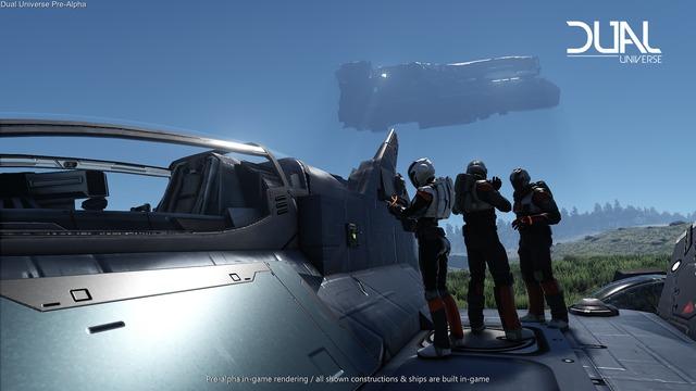Pré-alpha : maintenance de vaisseau