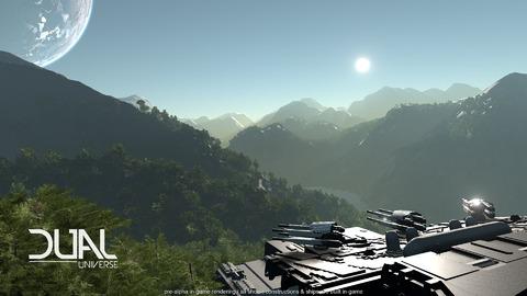 Dual Universe - Journal de développement : interagir avec l'environnement de Dual Universe
