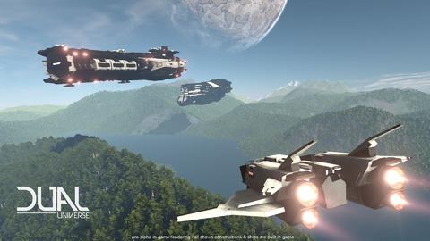 Dual Universe - Dual Universe valide sa campagne KickStarter