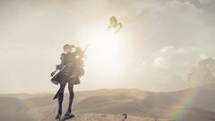 NieR Automata 201608 SS Desert 01 ONLINE