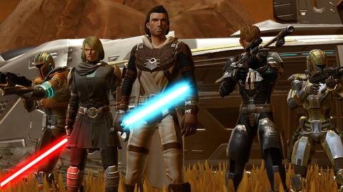 Knights of the Eternal Throne - Star Wars The Old Republic: Knights of the Eternal Throne est disponible