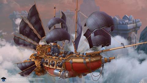 Cloud Pirates - Lancement free-to-play de Cloud Pirates prévu le 19 avril