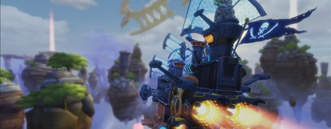 Cloud Pirates - Cloud Pirates en bêta #3 à partir du 21 décembre