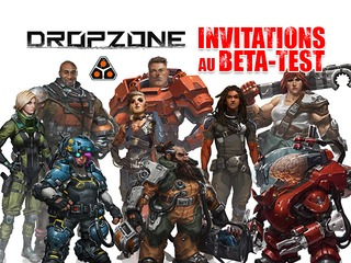 Invitation au bêta-test de Dropzone