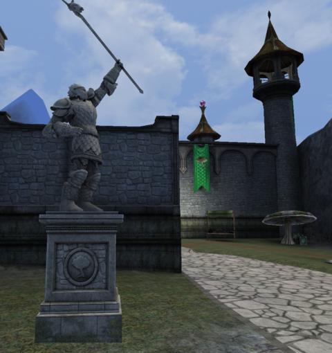 Dark Age of Camelot - Une statue à sa gloire sur Dark Age of Camelot