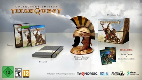 Titan Quest - Titan Quest débarque sur Xbox One, PlayStation 4 et Switch