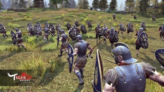 Les forces romaines s'annoncent dans Tiger Knight