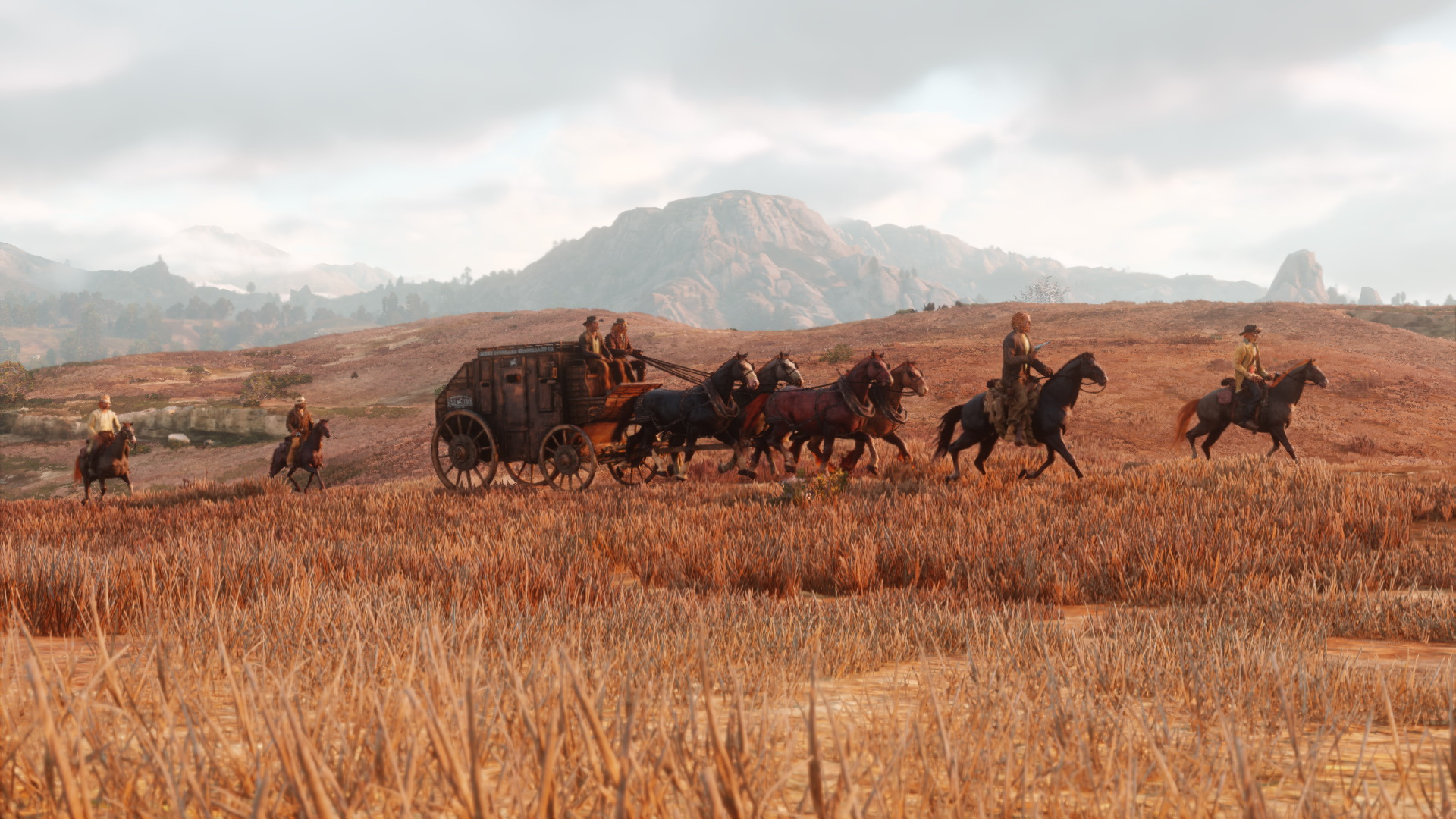 Red Dead Redemption 2 : quelques images inédites + report au printemps 2018