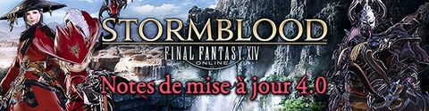 Stormblood - Final Fantasy XIV Stormblood : notes de la mise à jour 4.0