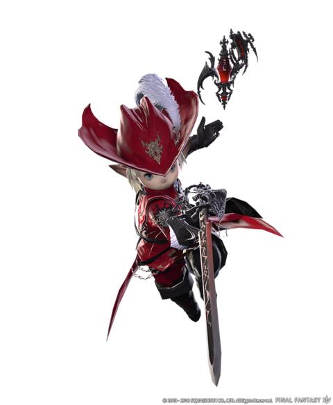 Final Fantasy XIV Online - Final Fantasy XIV : STORMBLOOD - Confirmation du Mage Rouge, ajout de la nage et plus encore