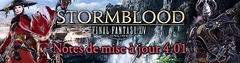 Final Fantasy XIV : Stormblood - Passage en version 4.01