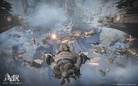 Ascent: Infinite Realm - Ascent: Infinite Realm précise ses mécaniques RvR