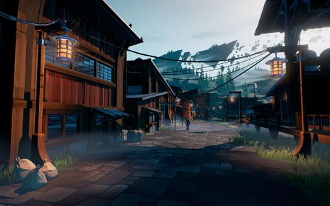 Dauntless - Dauntless illustre son gameplay : la cité de Ramsgate et de nouveaux béhémoths