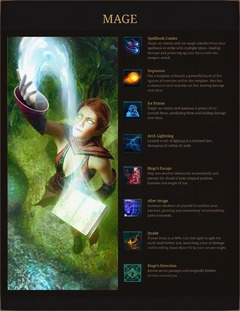 Compétence du mage d'Ashes of Creation