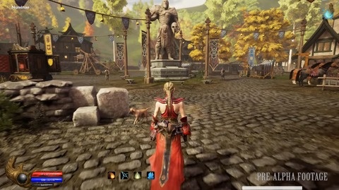 Ashes of Creation - Ashes of Creation illustre le gameplay de son « alpha zéro »