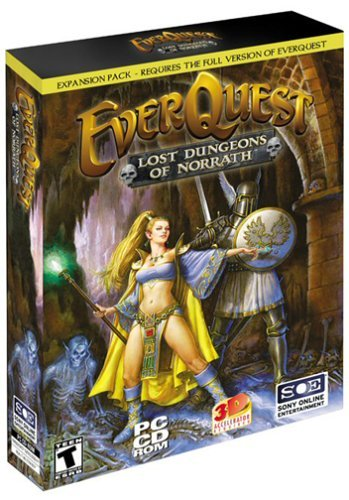 La boîte d'EverQuest: Lost Dungeons of Norrath
