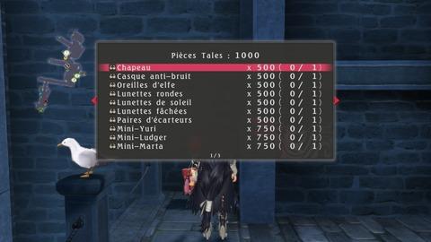 Les mini-jeux permettent d'acheter des tenues et des matériaux à des prix prohibitifs