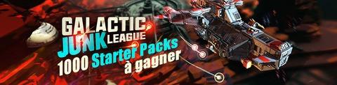 Galactic Junk League - Galactic Junk League en accès anticipé free-to-play : 1000 packs pour bien débuter