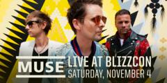MUSE en concert pour clôturer la BlizzCon 2017