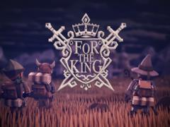 Aperçu de For The King, un jeu de stratégie/RPG/rogue-like. Oui, oui, tout cela en un