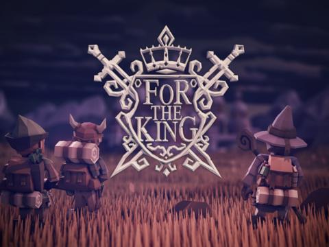 For The King - Aperçu de For The King, un jeu de stratégie/RPG/rogue-like. Oui, oui, tout cela en un