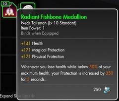 Radiant Fishbone Medallion