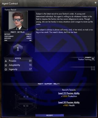 Premier aperçu du système d'Agents