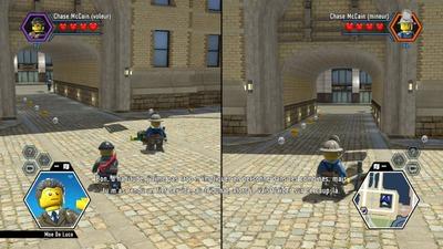 Le mode deux joueurs impose un écran splitté